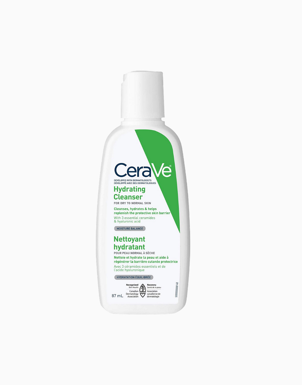 Hydrating Facial Cleanser For Normal to Dry Skin (87ml) by CeraVe