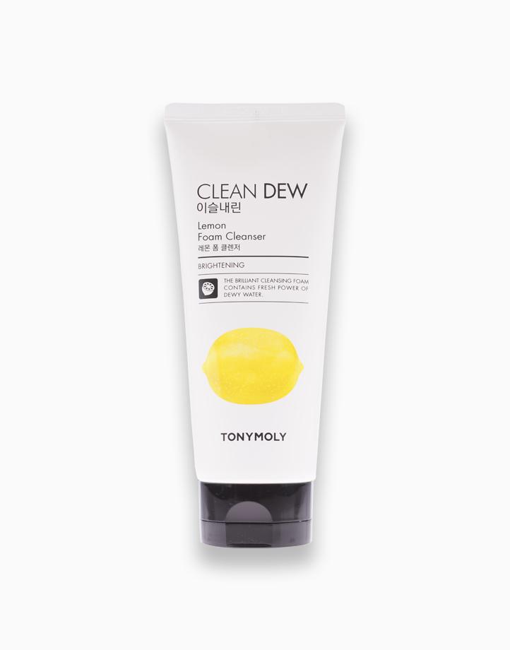 Clean Dew Lemon Foam Cleanser by Tony Moly