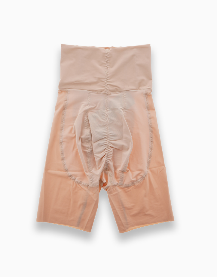 High-Waisted Shaper Shorts with Energy Stones (Nude) by Adam & Eve   M