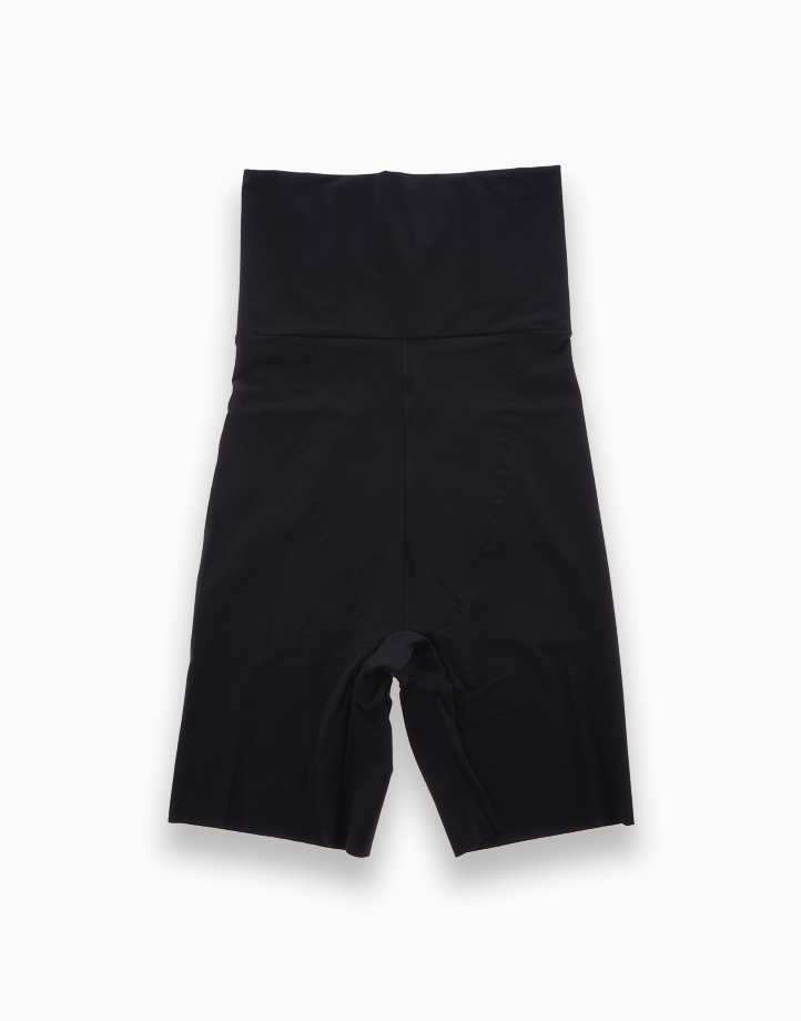 High-Waisted Shaper Shorts with Energy Stones (Black) by Adam & Eve   L