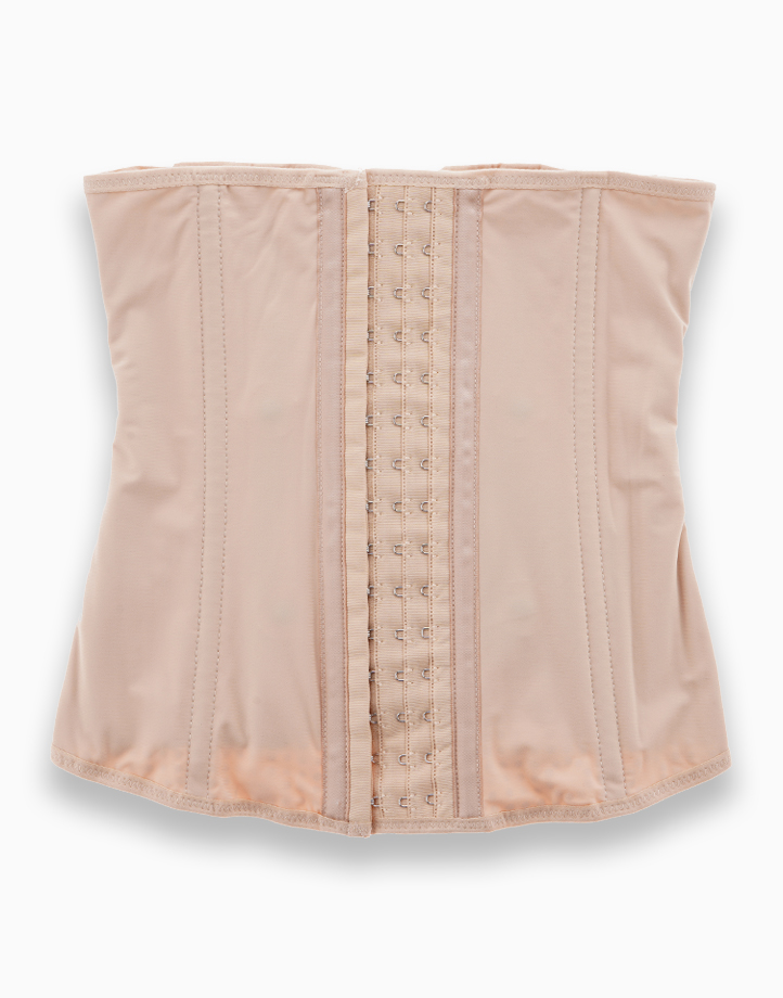 Waist Trainer Slimming Shapewear Corset with Energy Stones (Nude) by Adam & Eve   M