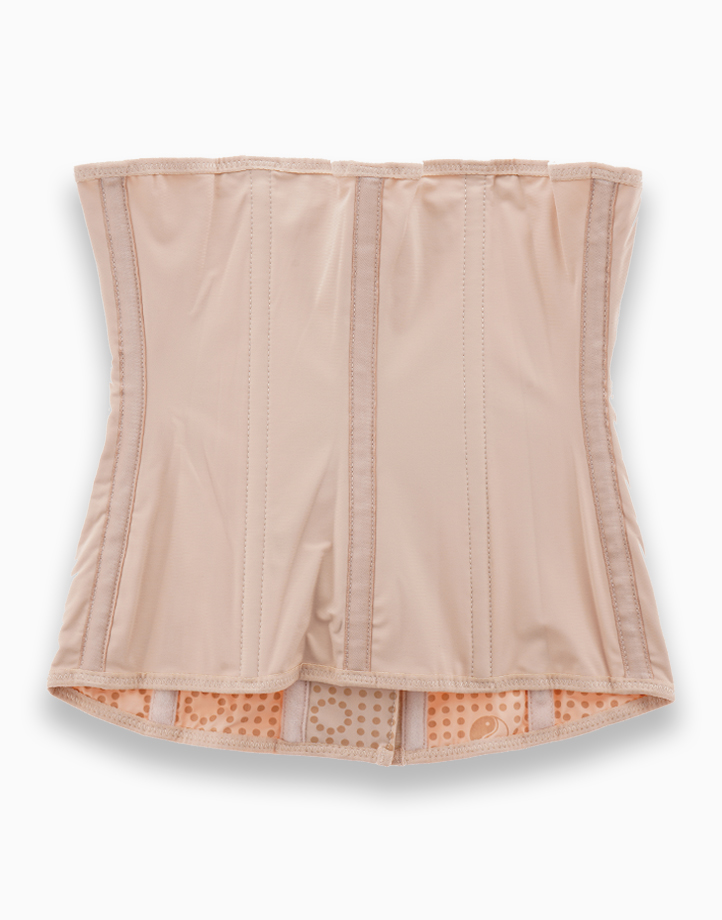 Waist Trainer Slimming Shapewear Corset with Energy Stones (Nude) by Adam & Eve   L