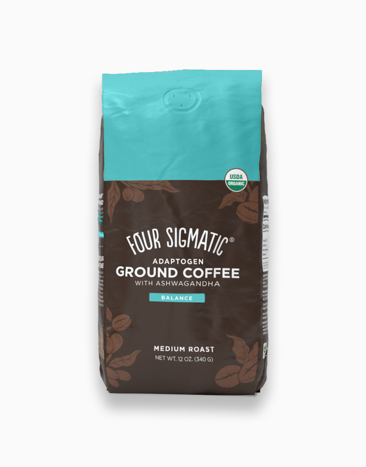 Adaptogen Ground Coffee with Ashwagandha by Four Sigmatic