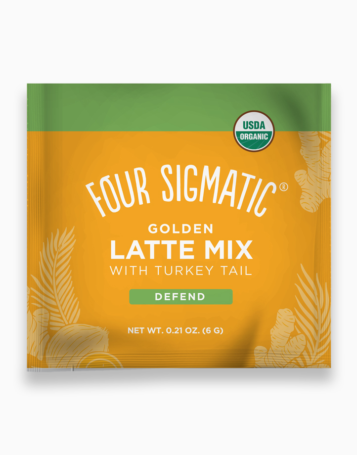 Golden Latte Mix with Turkey Tail Sachet by Four Sigmatic