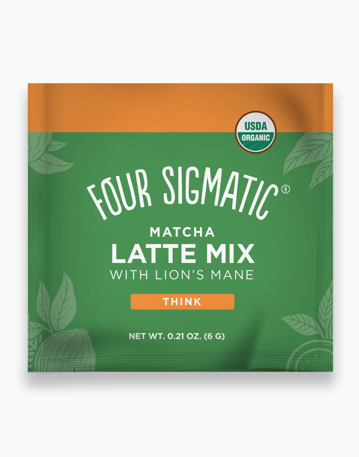 Matcha Latte Mix with Lion's Mane Sachet by Four Sigmatic
