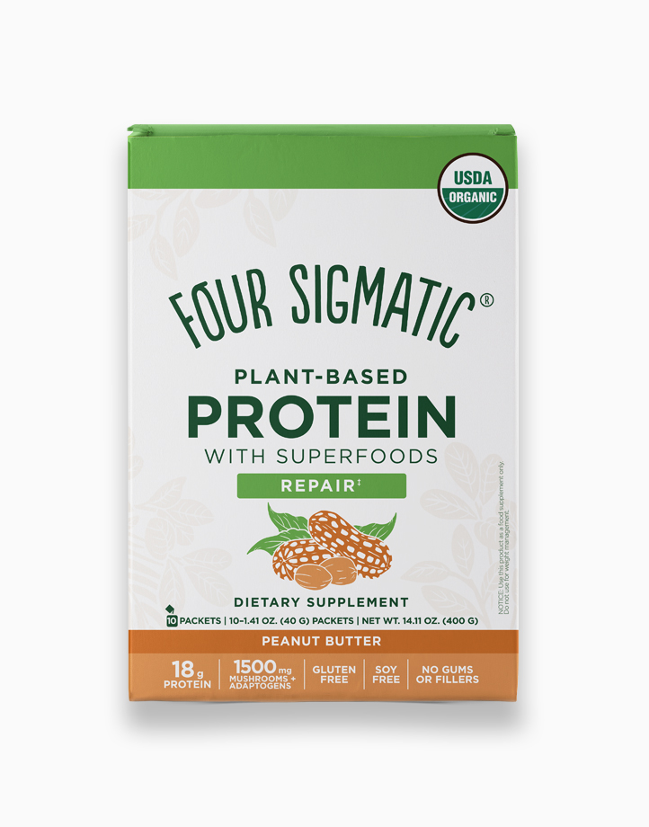 Plant-based Protein Peanut Butter by Four Sigmatic