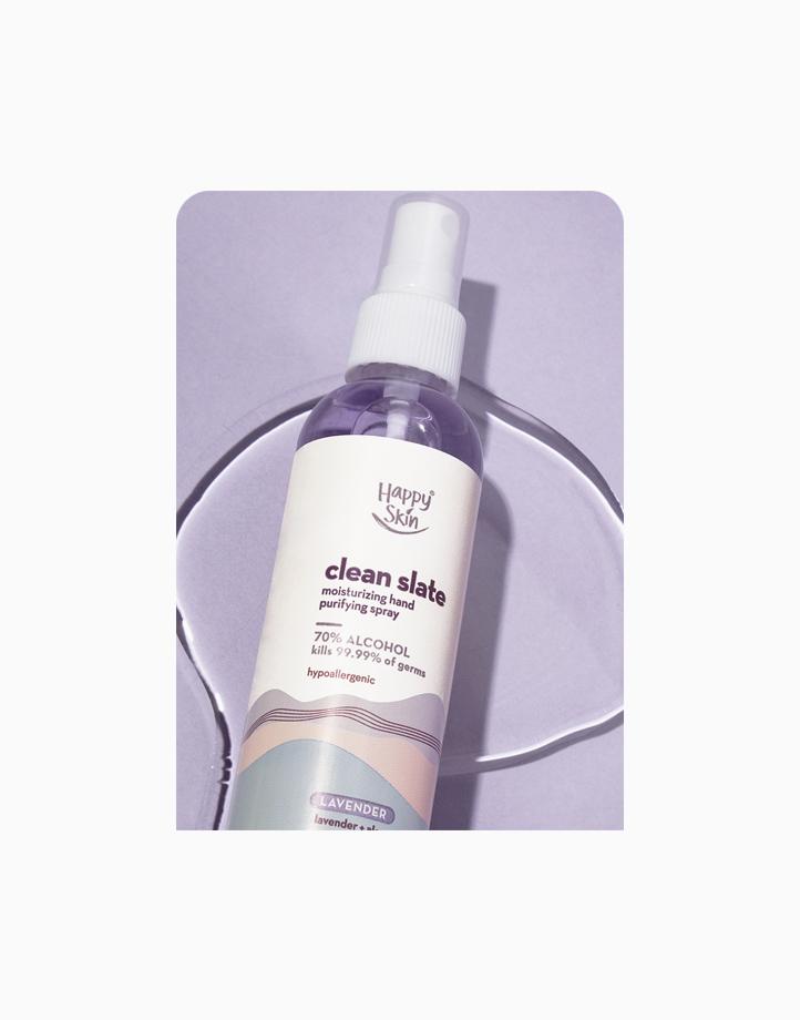 Clean Slate Moisturizing Hand Purifying Sanitizer Spray (70% Alcohol) by Happy Skin