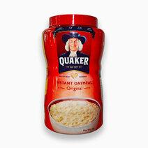 Quaker instant oats jar