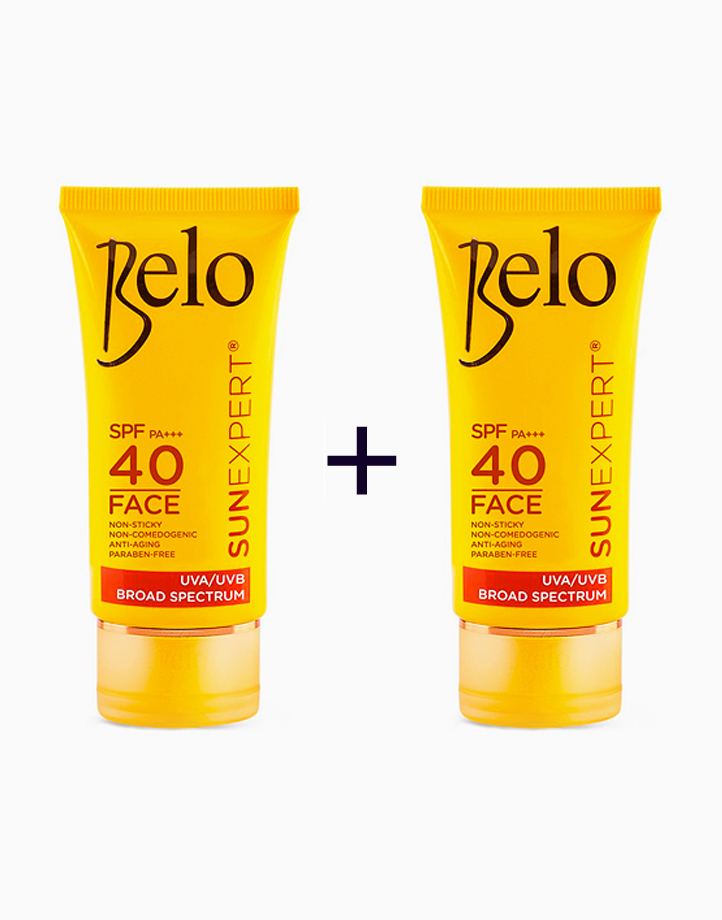 SunExpert Face Cover SPF40 PA++++ (50ml) (Buy 1, Take 1) by Belo