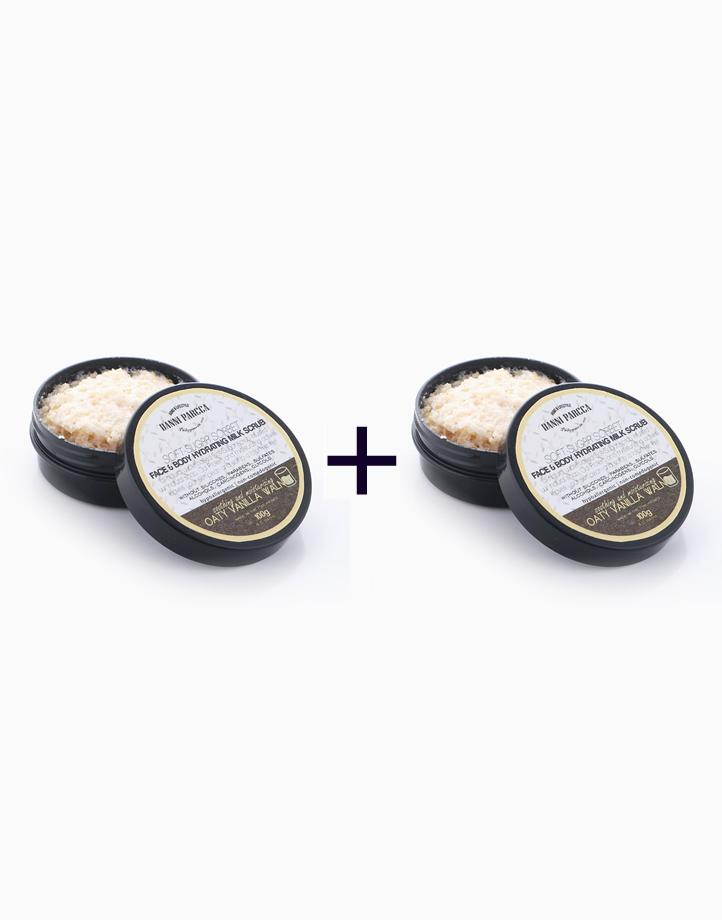 Face & Body Hydrating Milk Scrub in Oaty Vanilla Walnut (100g) (Buy 1, Take 1) by Danni Parcca