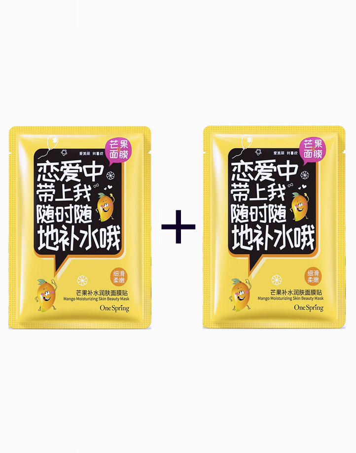 Mango Moisturizing Beauty Mask (Buy 1, Take 1) by One Spring