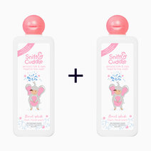 Re b1t1 sniff   cuddle almond milk   oats head to toe wash in floral splash scent