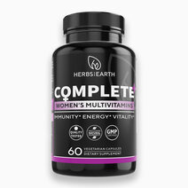 Complete Multivitamins for Women (1000mg, 60 Capsules) by Herbs of the Earth