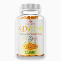 Vitamin C Gummies for Kids (250mg, 90 Gummies) by Herbs of the Earth