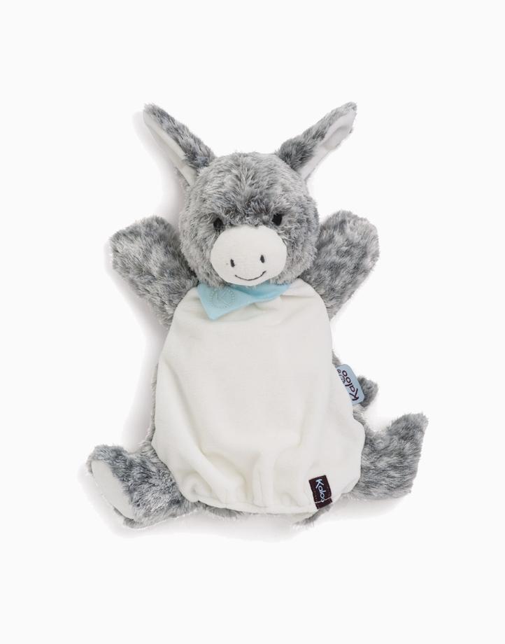Les Amis - Donkey Doudou Puppet (30cm) by Kaloo