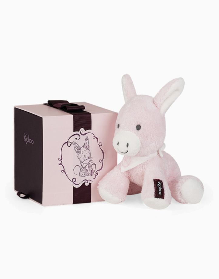 Les Amis - Regliss' Donkey (Small) by Kaloo   Pink