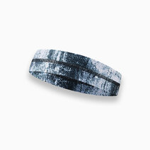 Aura athletica sweatband indigo marble