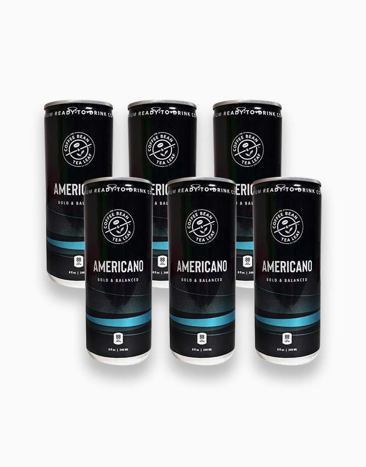 Americano 240ml (6 cans) by The Coffee Bean & Tea Leaf