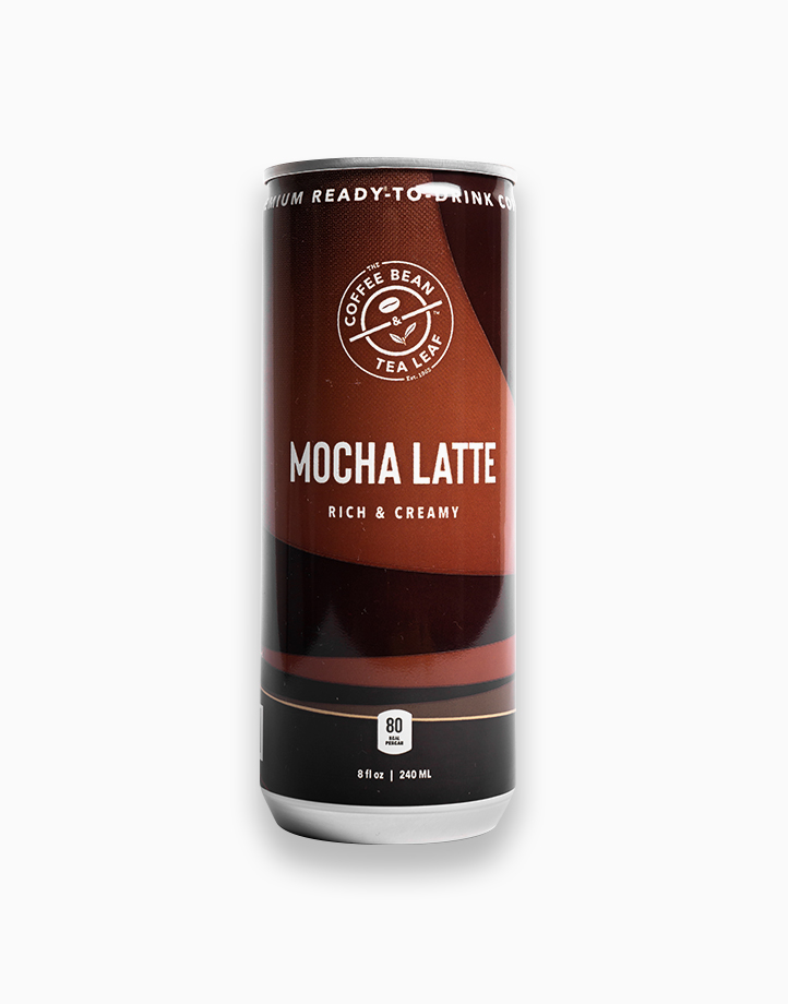 Mocha Latte 240ml (6 cans) by The Coffee Bean & Tea Leaf