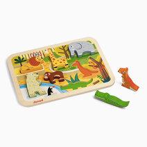 Janod zoo chunky puzzle 1