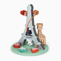 Janod sophie la girafe bead maze 1