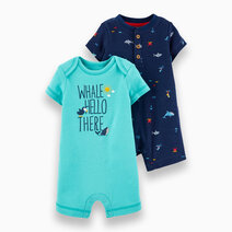 2-Pack Snap Up Romper by Carter's