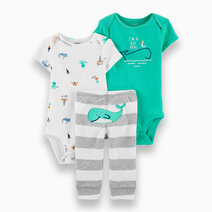 Re carter s baby boy 3 piece whale little character set