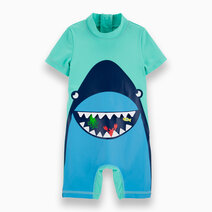 Re carter s baby boy 1 piece whale mouth rashguard