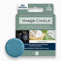 Re yankee candles clean cotton   car powered fragrance diffuser refill