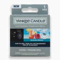 Re yankee candles bahama breeze   car powered fragrance diffuser refill