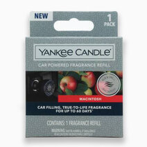 Re yankee candles macintosh   car powered fragrance diffuser refill