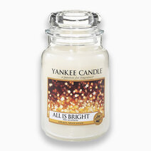 Re yankee candles all is bright   classic large jar candle