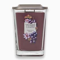Re yankee candles grapevine   saffrom   large elevation candle