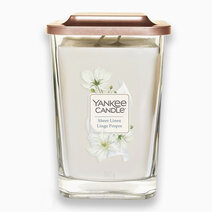 Sheer Linen Large Elevation Candle by Yankee Candle