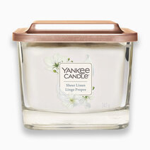 Sheer Linen - Medium Elevation Candle by Yankee Candle