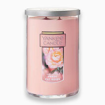 Re yankee candles fresh cut roses   large 2 wick tumbler candle