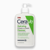 Cerave hydrating cream to foam cleanser 473ml