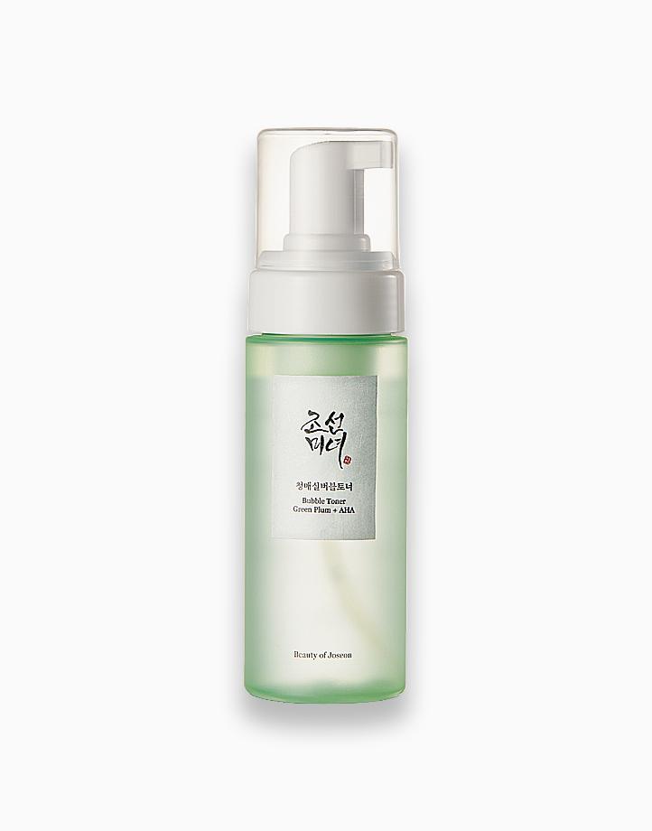 Bubble Toner: Green Plum + AHA by Beauty of Joseon