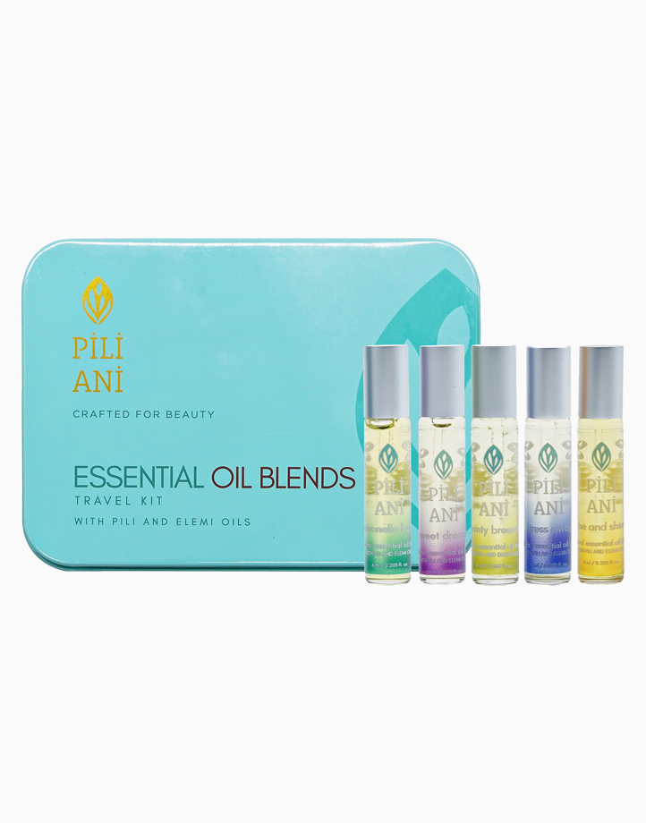 Essential Oil Blends Travel Kit (6ml) by Pili Ani