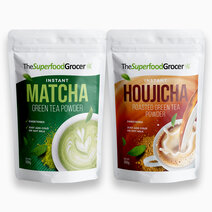 Instant Matcha & Houjicha Tea Bundle by The Superfood Grocer