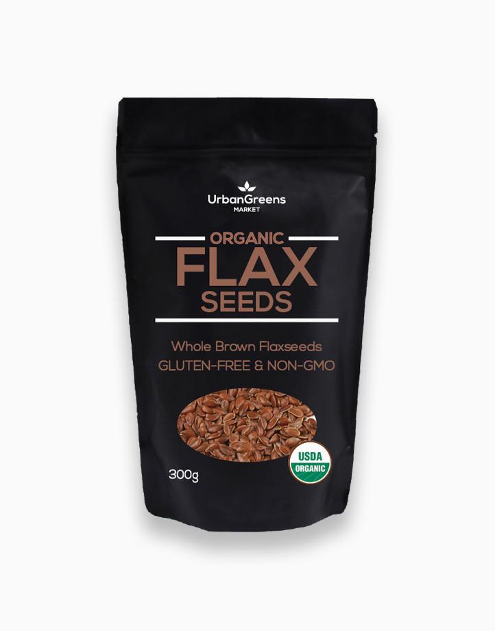 Brown Flaxseeds (300g) by UrbanGreens Market
