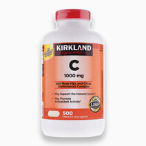 Signature Vitamin C with Rosehips and Citrus Bioflavonoid Complex, 500 Tablets - Damaged Packaging by Kirkland