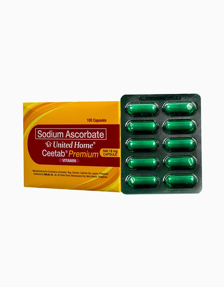 Ceetab Premium (Sodium Ascorbate) 100s by United Home