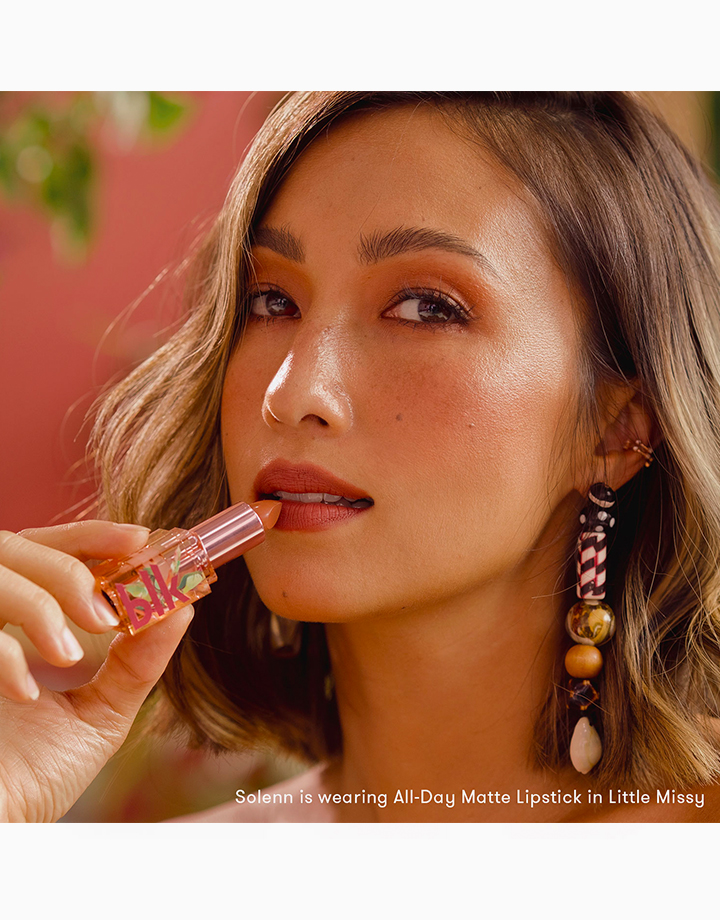 blk cosmetics x Solenn All-Day Matte Lipstick by BLK Cosmetics | Little Missy