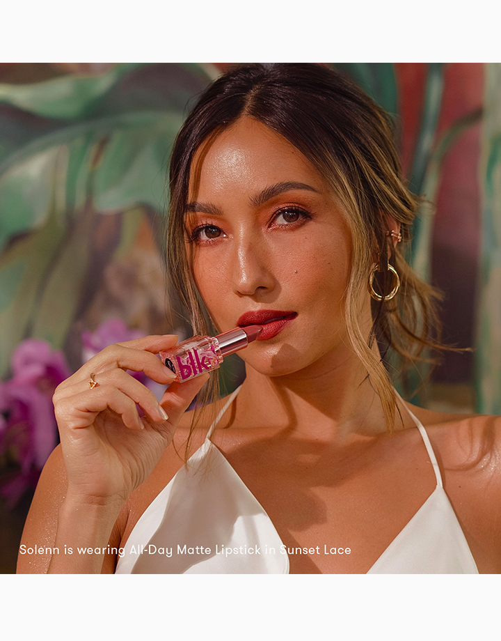 blk cosmetics x Solenn All-Day Matte Lipstick by BLK Cosmetics | Sunset Lace