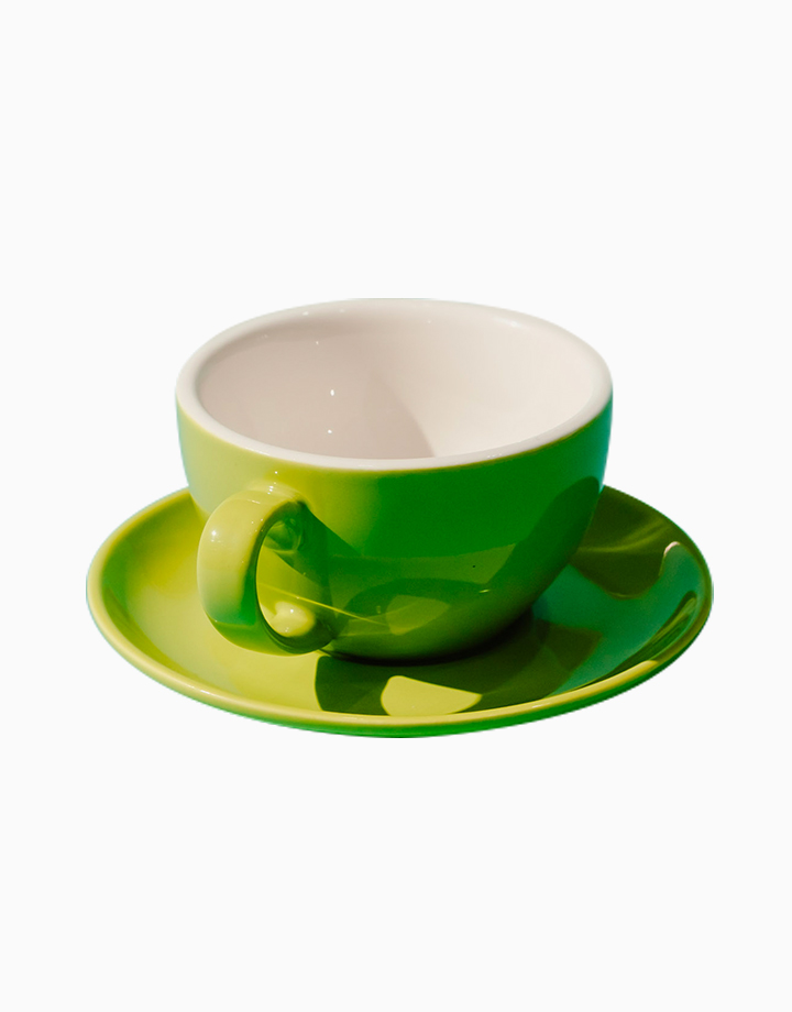 Egg Coffee/Tea Cup & Saucer 220ml by Orion. | Lime