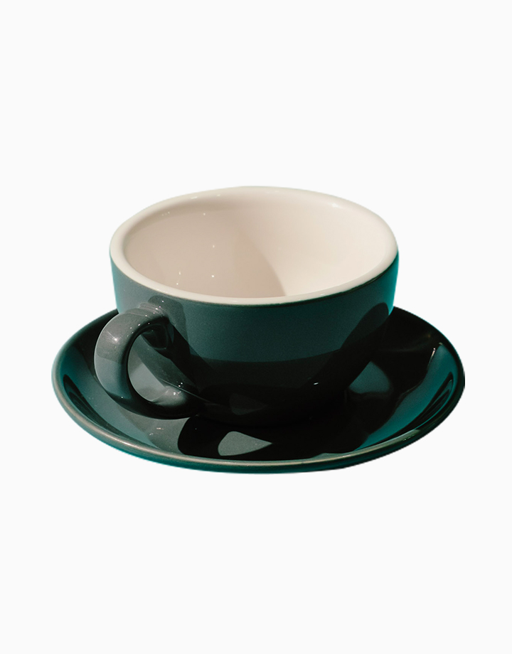 Egg Coffee/Tea Cup & Saucer 220ml by Orion. | Grey