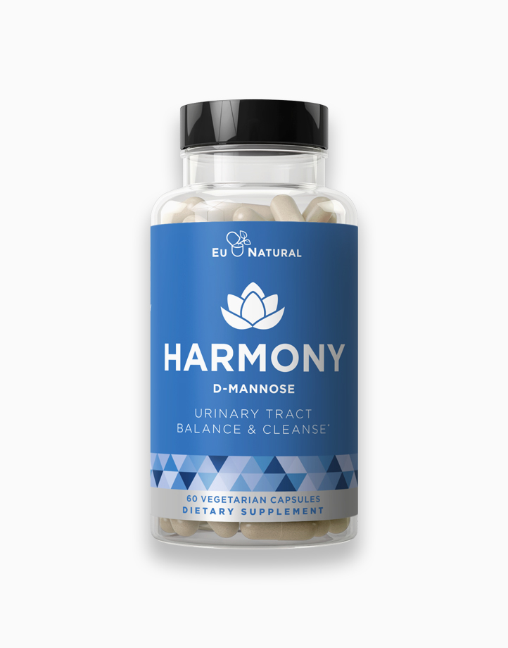 HARMONY D-Mannose - Urinary Tract Cleanse & Bladder Health by Eu Natural