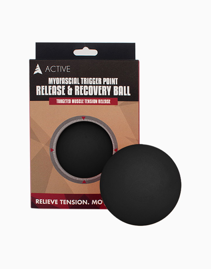 Myofascial Release Ball by Active | Black