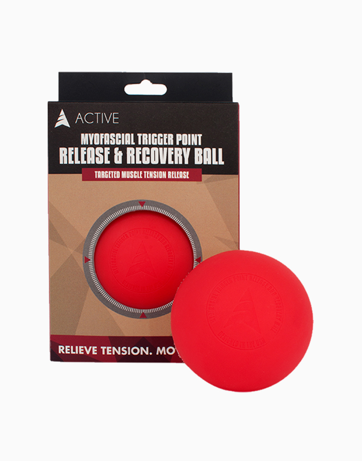 Myofascial Release Ball by Active | Red